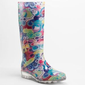 NEW Coach Sz 8 Pixy Poppy Pop C Boots Shoes